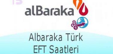Albaraka Türk EFT Saatleri