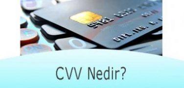 CVV Nedir?