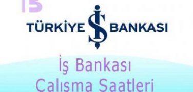 İş Bankası Çalışma Saatleri