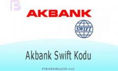 Akbank Swift Kodu
