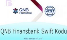 QNB Finansbank Swift Kodu