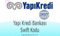 Yapı Kredi Bankası Swift Kodu
