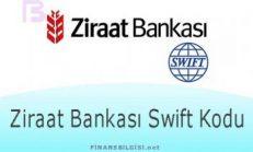 Ziraat Bankası Swift Kodu