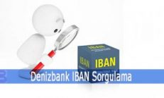 Denizbank IBAN Sorgulama