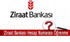 Ziraat Bankası Hesap Numarası Öğrenme