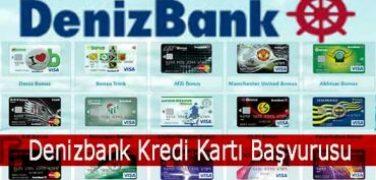 Denizbank Kredi Kartı Başvurusu Nasıl Yapılır?
