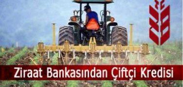 Ziraat Bankasından Çiftçi Kredisi
