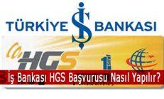 İş Bankası HGS Başvurusu Nasıl Yapılır?