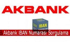 Akbank IBAN Numarası Sorgulama