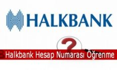 Halkbank Hesap Numarası Öğrenme