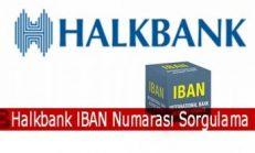 Halkbank IBAN Numarası Sorgulama