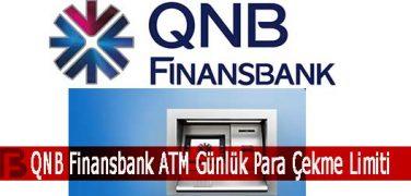 QNB Finansbank ATM Günlük Para Çekme Limiti
