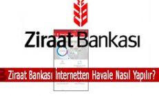 Ziraat Bankası İnternet'ten Havale Nasıl Yapılır?
